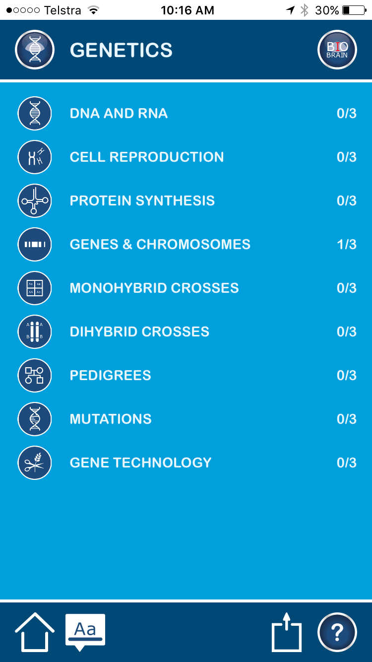 Biobrain – leading Biology Revision App for Students doing
